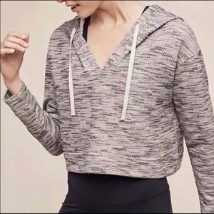 Anthropologie Saturday Sunday Cropped Hoodie